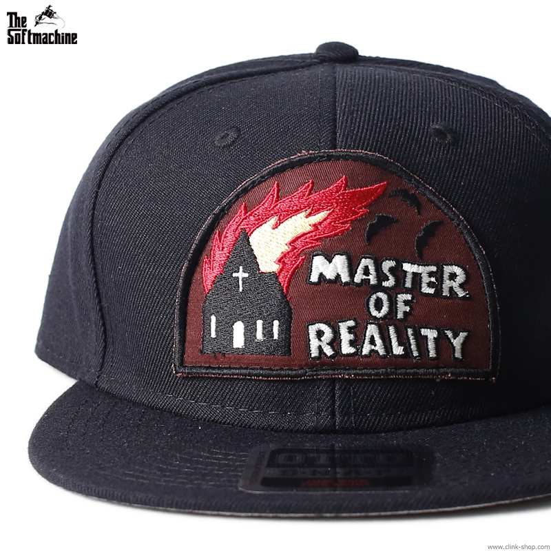 "SOFTMACHINE REVIVAL WAPPEN CAP ""MASTER OF REALITY"" [CLINK LTD. EDITION]"