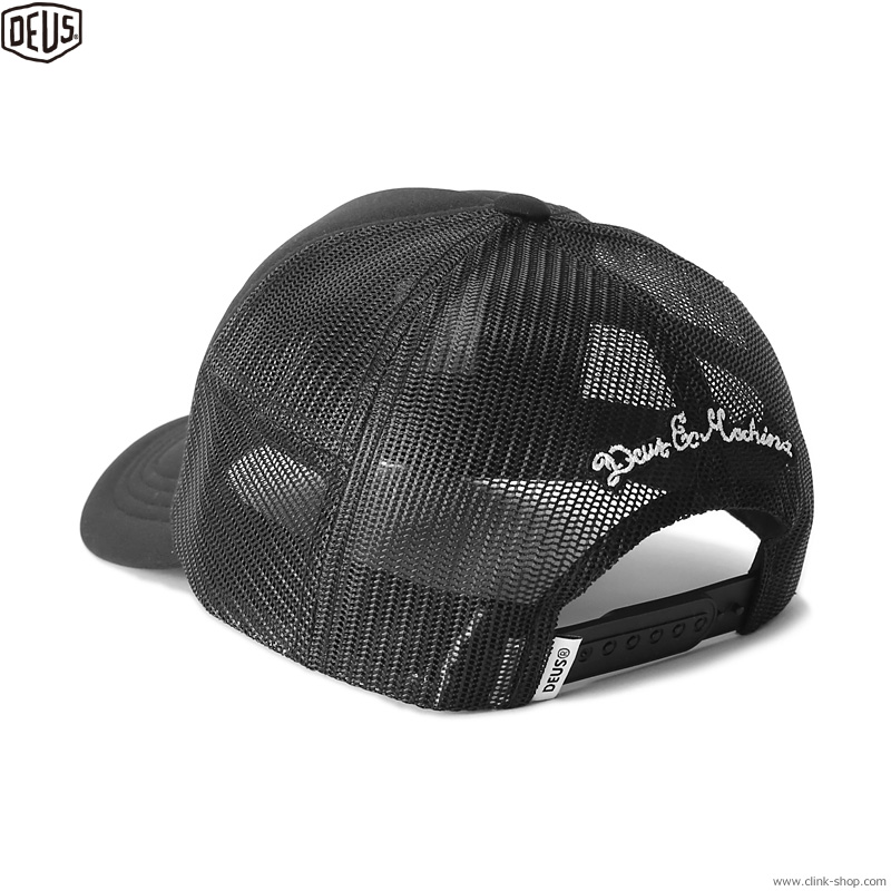 DEUS EX MACHINA CAPS TRUCKER (BLACK)