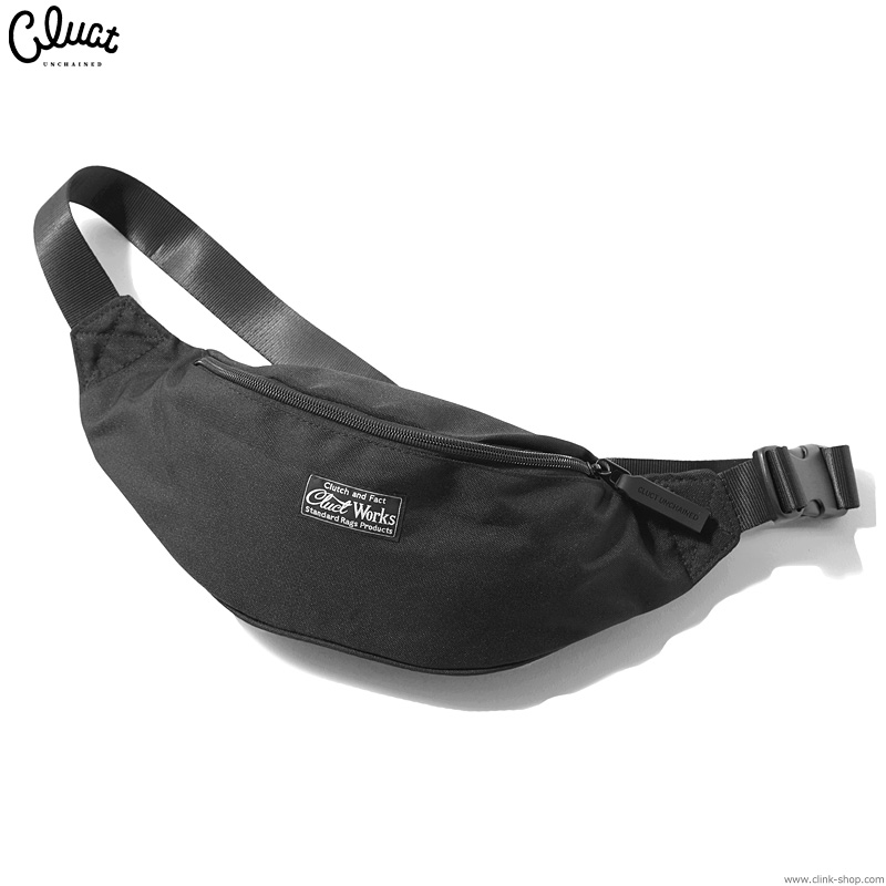 CLUCT CLT-BODY BAG (BLACK) #04162