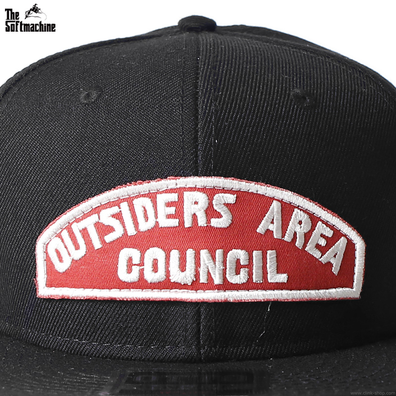 "SOFTMACHINE REVIVAL WAPPEN CAP ""OUTSIDERS AREA"" [CLINK LTD. EDITION]"