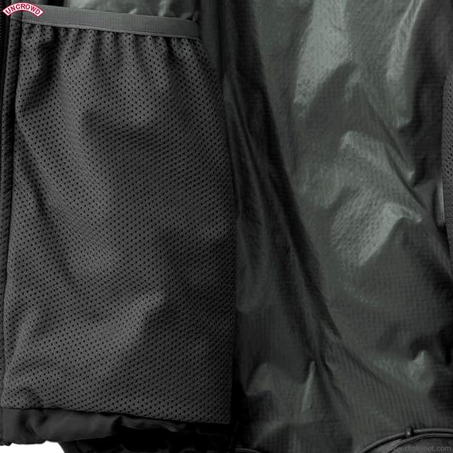 UNCROWD × Zanter DOWN HAPPY SUIT (BLACK) [UC-410-019]