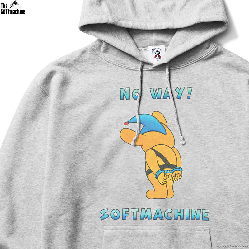 SOFTMACHINE NO WAY HOODED (GRAY) [CLINK EXCLUSIVE REPRODUCTION]