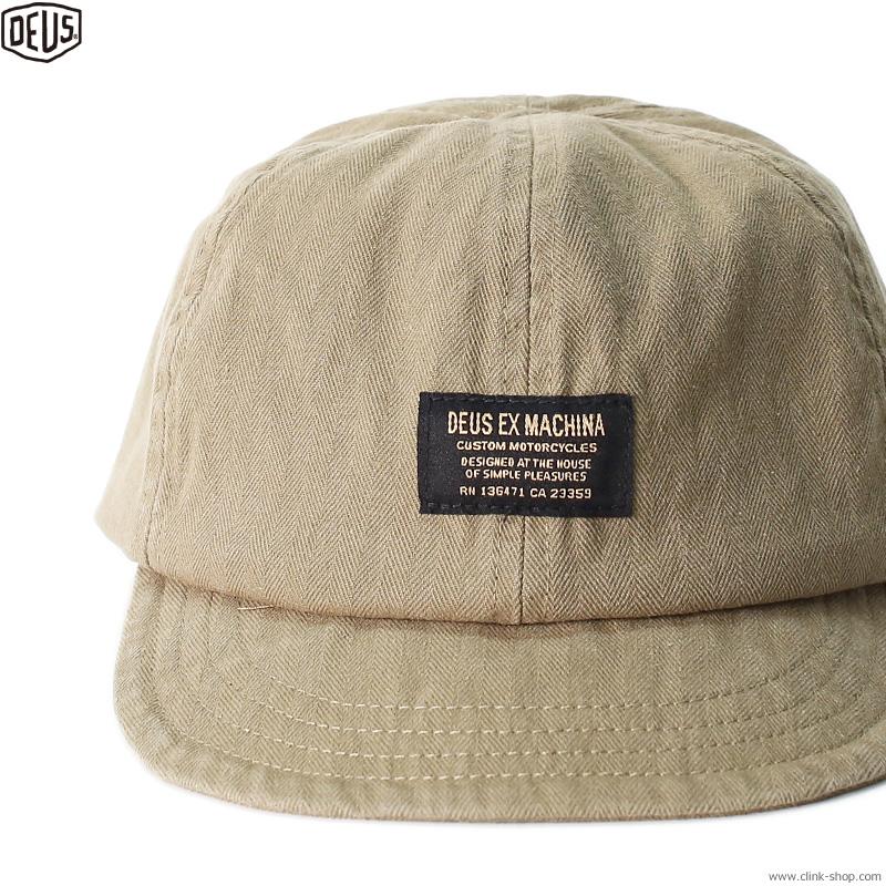 DEUS EX MACHINA HOLBROOK CAP (TOBACCO)