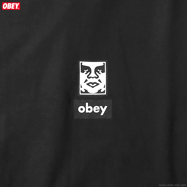"""OBEY BASIC TEE """"OBEY ICON FACES 30YEARS"""" (BLACK)"""