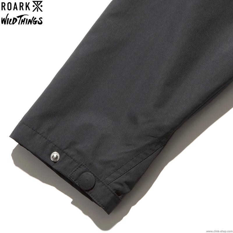 ROARK × WILDTHINGS - TREKMAN JACKET (BLACK)