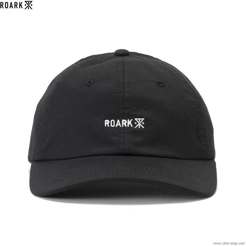 "ROARK REVIVAL ""LOGO"" 6PANEL CAP (BLACK)"