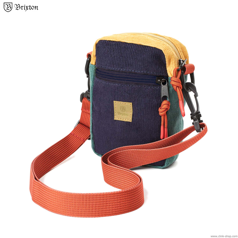 BRIXTON MAIN LABEL HIP PACK (MULTI)
