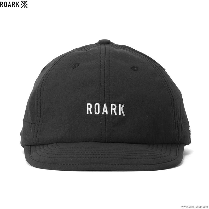 """ROARK REVIVAL """"ROARK"""" 6PANEL CAP FLEXIBLE VISOR (BLACK)"""