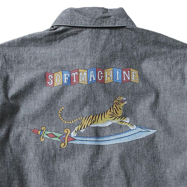 SOFTMACHINE SABER TIGER SHIRTS (BLACK)