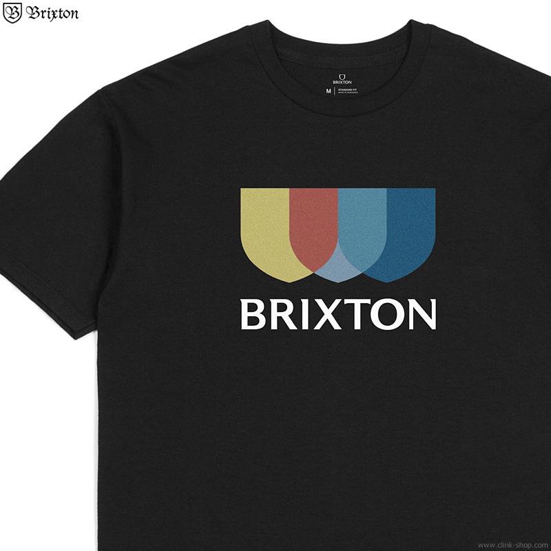 BRIXTON ALTON II S/S STANDARD TEE (BLACK)