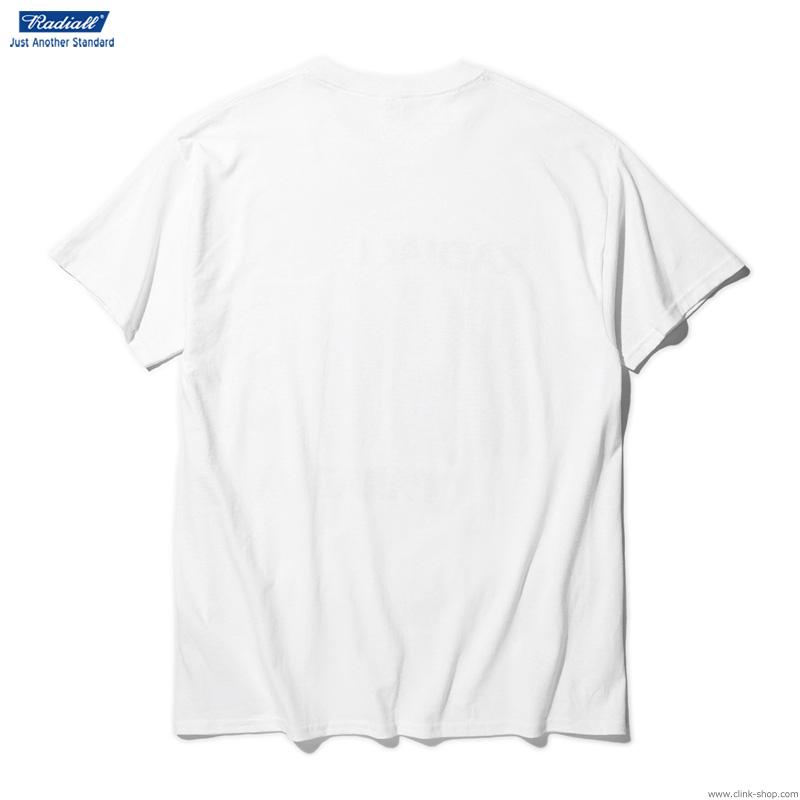 RADIALL SST - CREW NECK T-SHIRT S/S (WHITE)