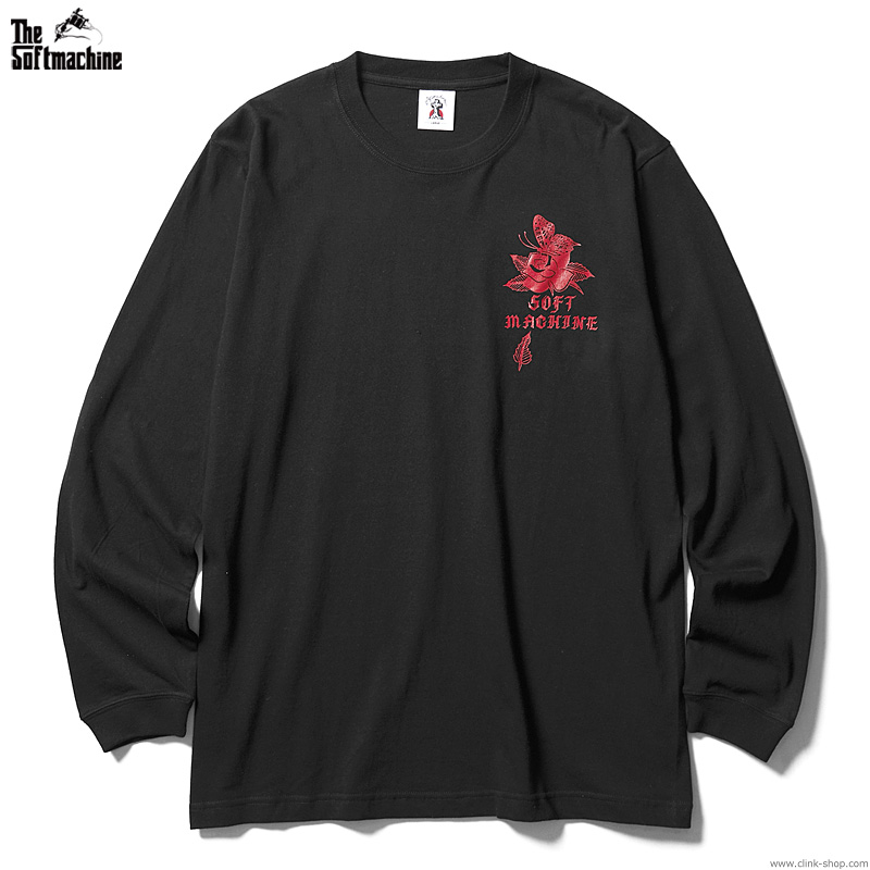 SOFTMACHINE SHAKUR L/S (BLACK)