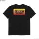 BRIXTON PALMER S/S TAILORED TEE (BLACK)