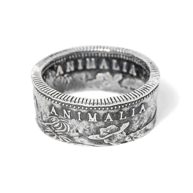 ANIMALIA CA1849 Coin Ring [AN15U-AC10]