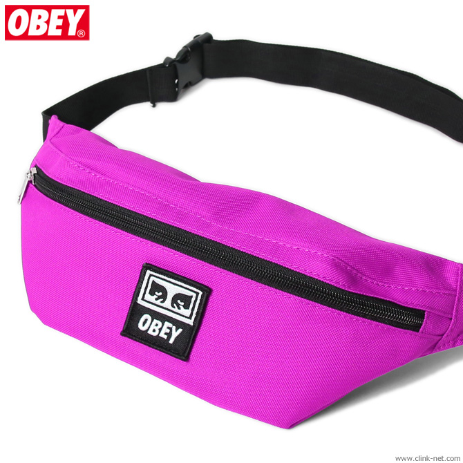 OBEY DAILY SLING BAG (FUCHSIA)