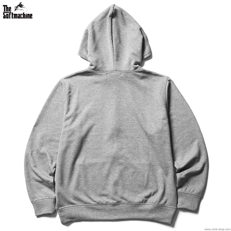 SOFTMACHINE GOD JERSEY HOODED (GRAY)