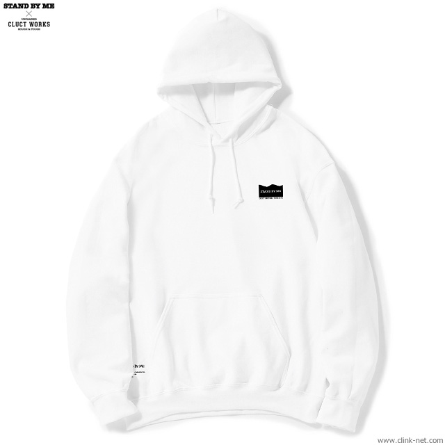 CLUCT BIG SILHOUETTE H-S (WHITE) [STAND BY ME×CLUCT] #04010