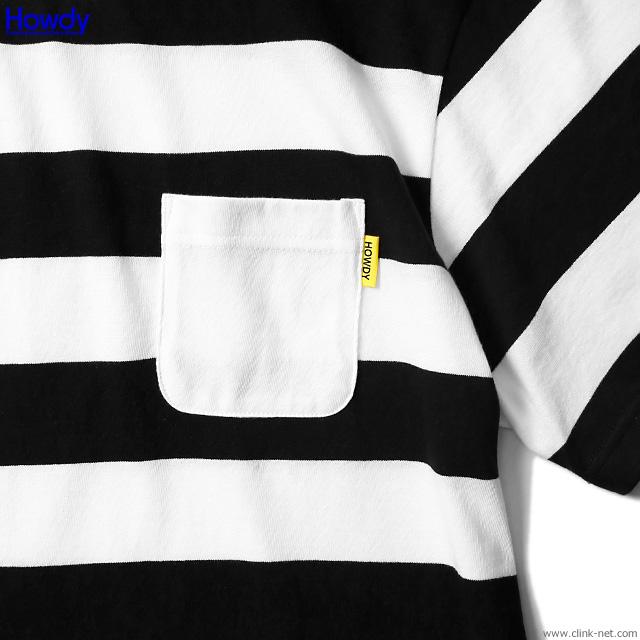 Howdy Stripe Pocket T [HWD1902-TE02]