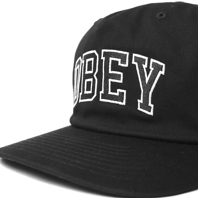 OBEY DROPOUT SNAPBACK (BLACK)