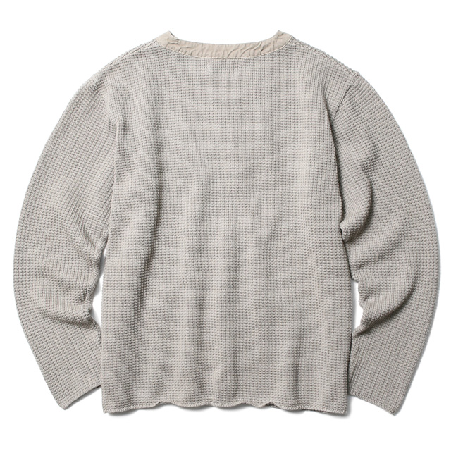 RADIALL AZTEC - PULLOVER SWEATER L/S (BEIGE)