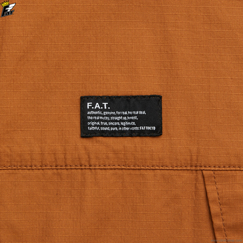 FAT SHIRTA (BROWN) [F32110-SH14]