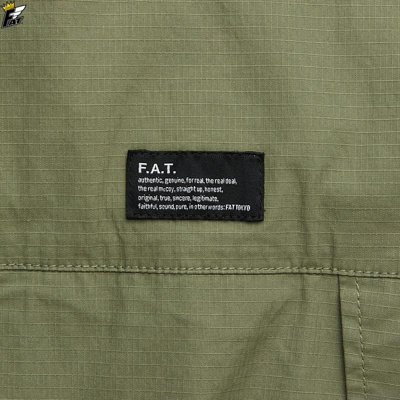 FAT SHIRTA (OLIVE) [F32110-SH14]