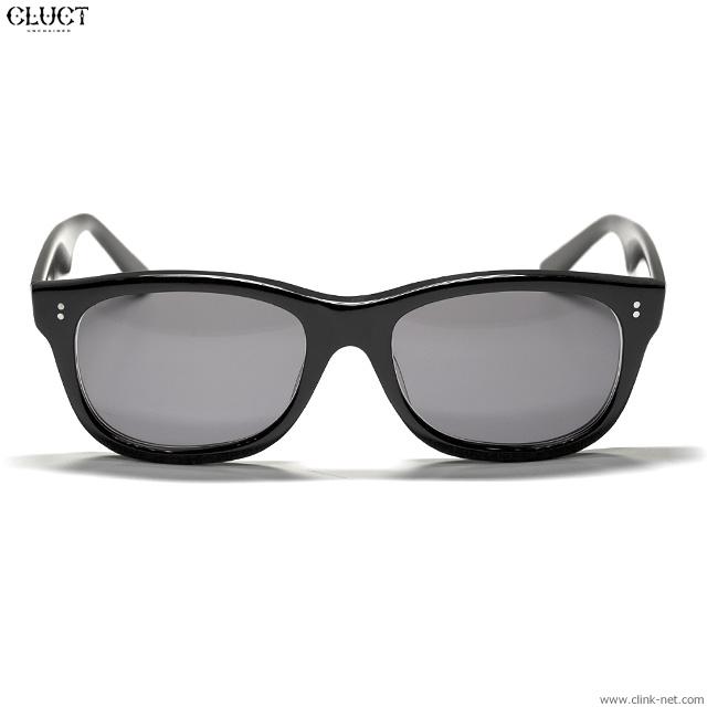 CLUCT 鯖江 SUNGLASSES (BLACK / DK.GRAY LENS) #02976