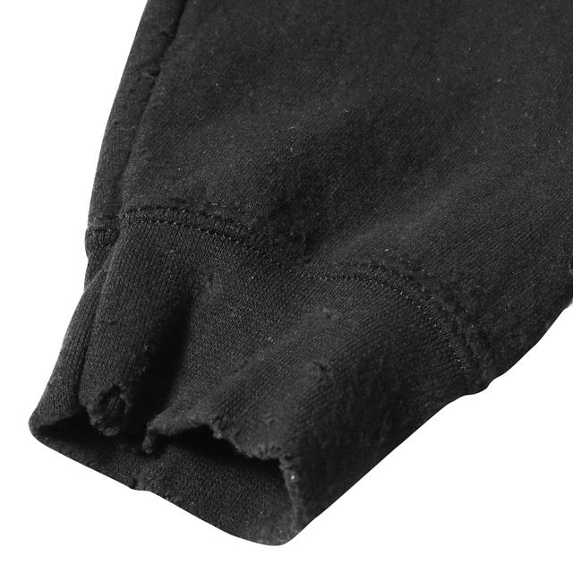 LIBERAIDERS EMBROIDERY PULLOVER HOODIE (BLACK) #77301