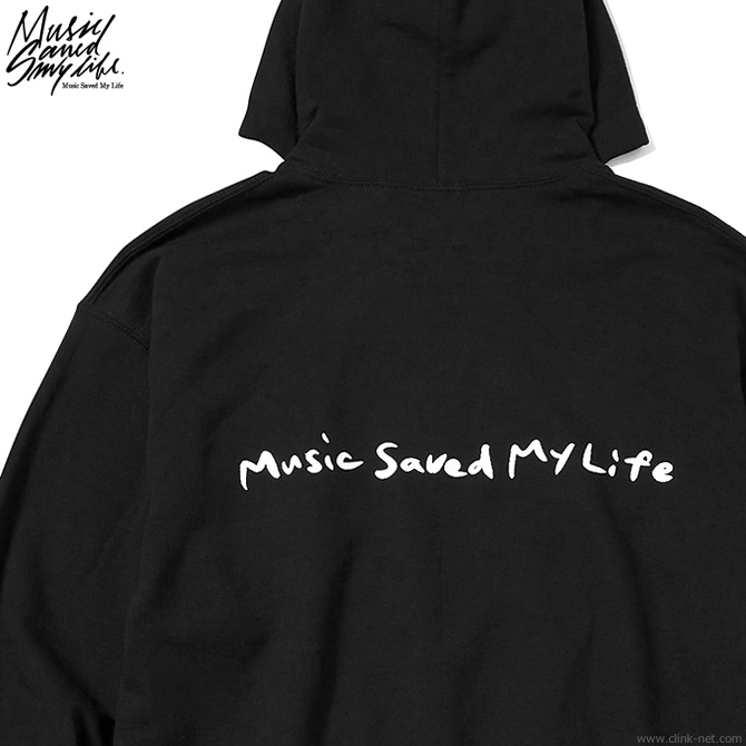 ★SALE★M.S.M.L.-Katsuma EDITION- DON'T TOO MUCH  HOODIE (BLACK) [M201-01K5-CL51]