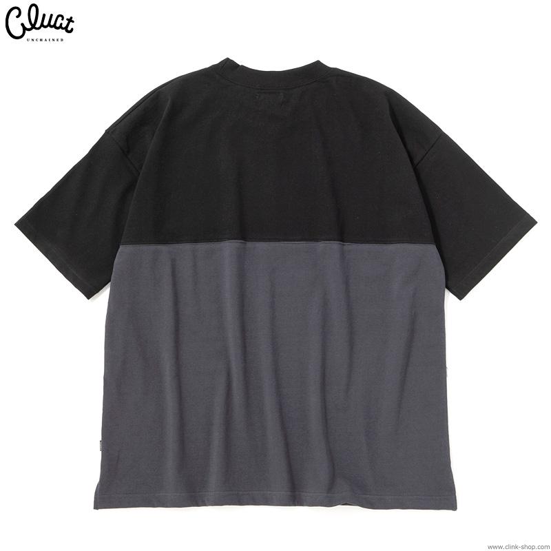 CLUCT CW-E.M.B S/S (BLACK×GRAY) #04072