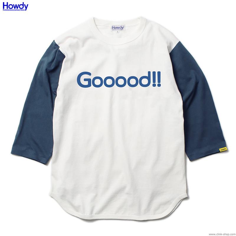 Howdy Gooood BB T (BLUE) [HWD2001-TE04]