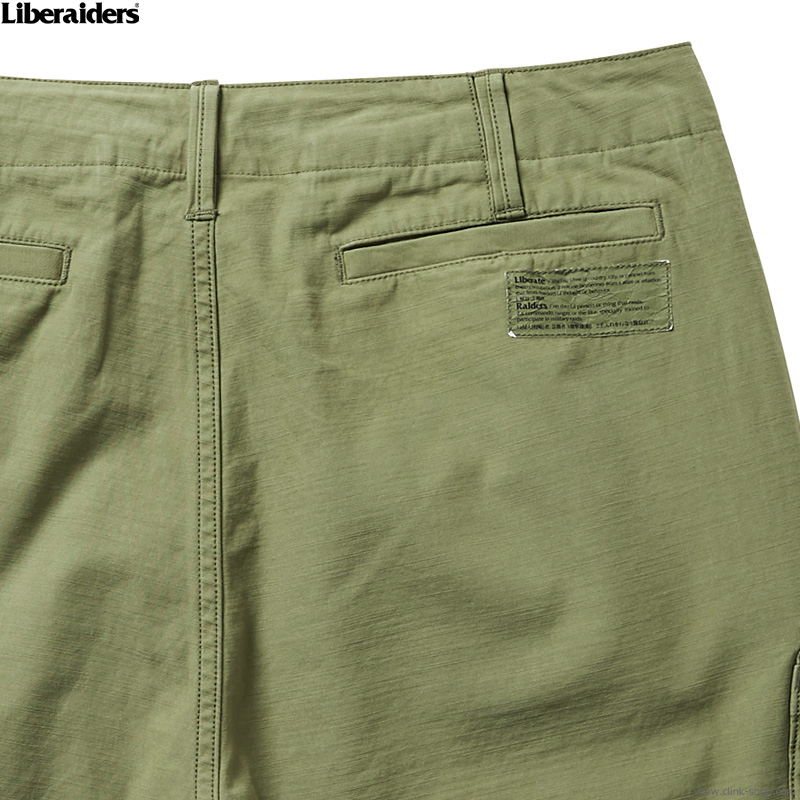 LIBERAIDERS ARMY SHORTS (OLIVE) #73801