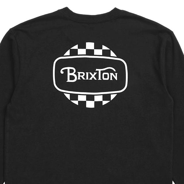 BRIXTON BELLFAST L/S STANDARD TEE (BLACK)