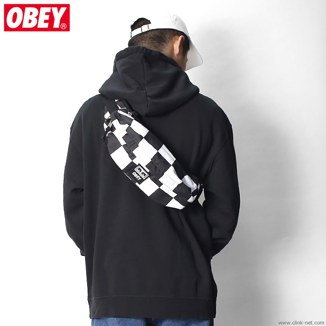OBEY DROP OUT SLING PACK (CHECKER)