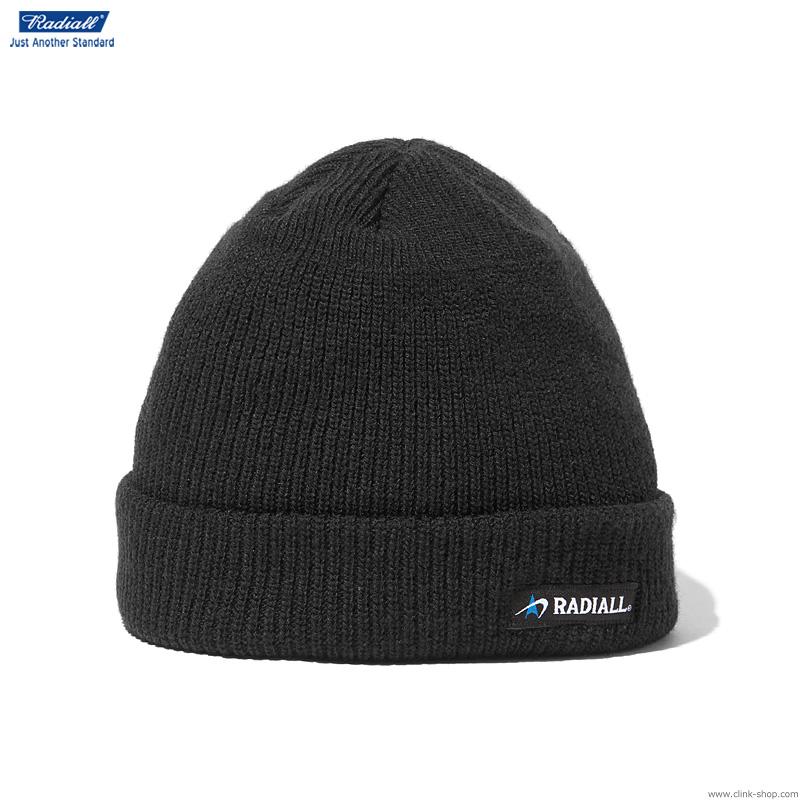 RADIALL C-10 - WATCH CAP (BLACK)