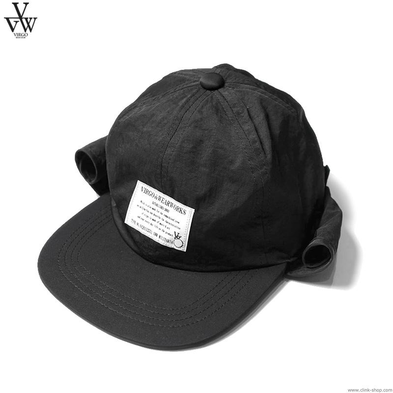 VIRGO SUNSHADE CAP (BLACK) [VG-GD-630]