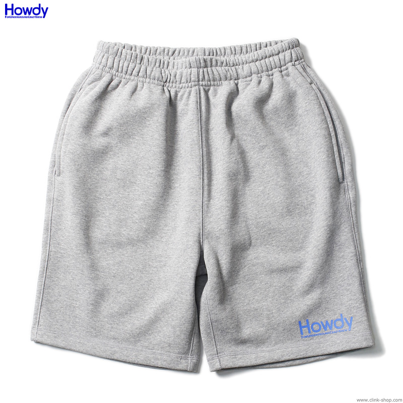 Howdy Mini Logo Shorts (GRAY) [HWD2001-SW01]
