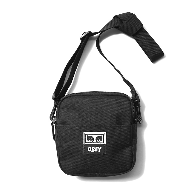 OBEY DROP OUT TRAVELER BAG (BLACK)