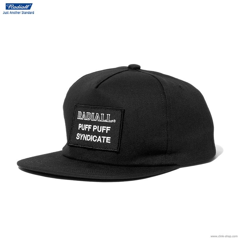 RADIALL SYNDICATE - TRUCKER CAP (BLACK)