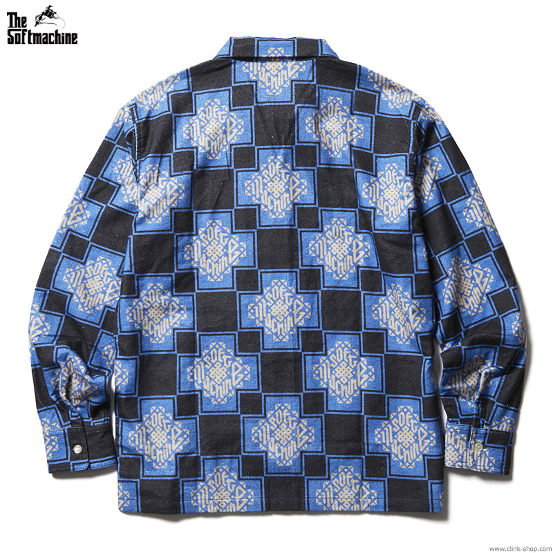 SOFTMACHINE TRIBUS SHIRTS (BLUE)