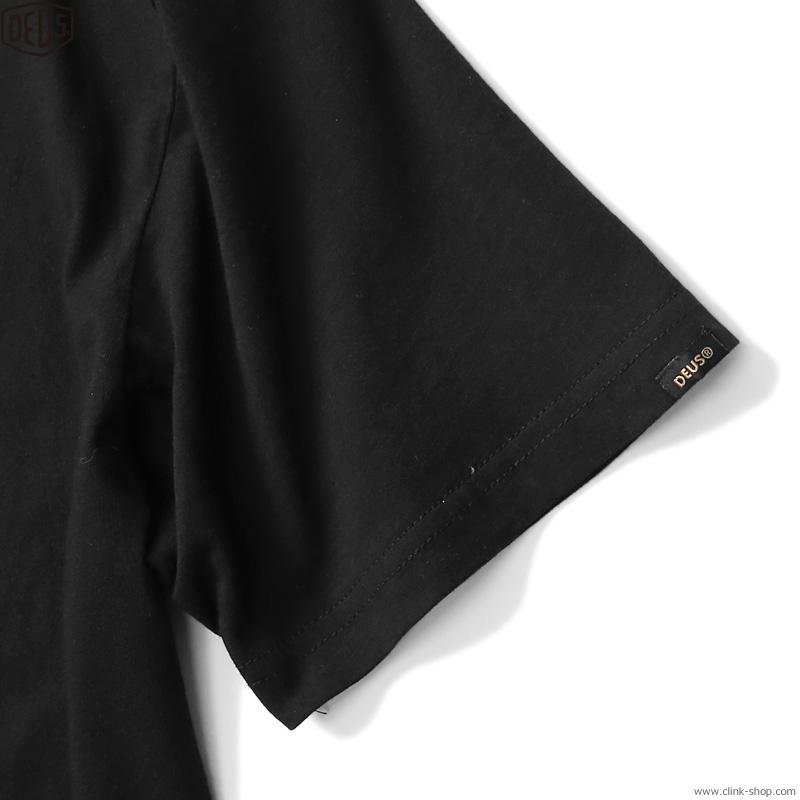 DEUS EX MACHINA COGS TEE (BLACK)