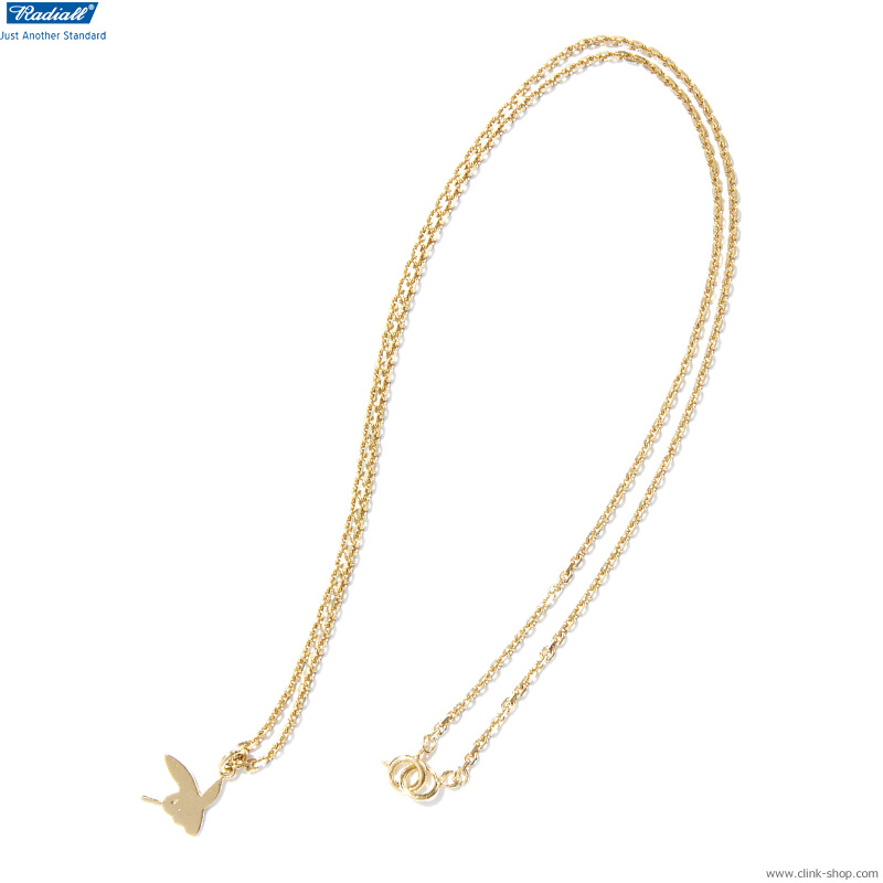 RADIALL BUNNY PINKY NECKLACE (GOLD)