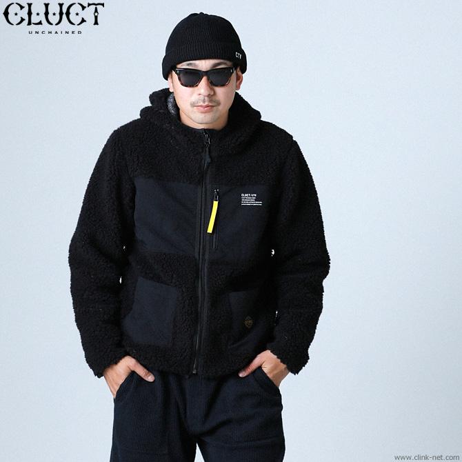 CLUCT CTW-FLEECE JKT (BLACK) #03067