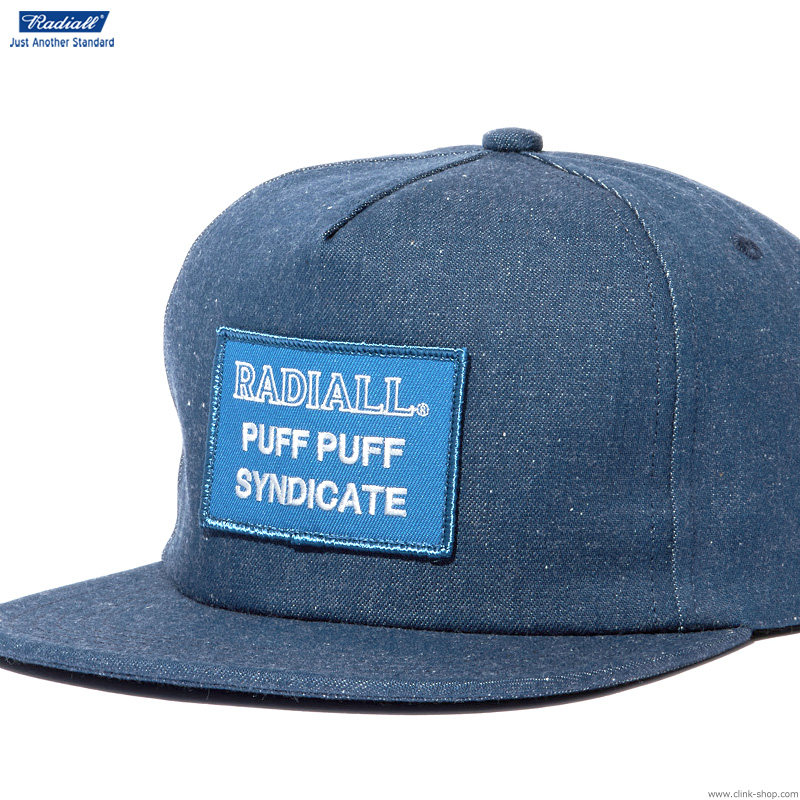 RADIALL SYNDICATE - TRUCKER CAP (INDIGO)