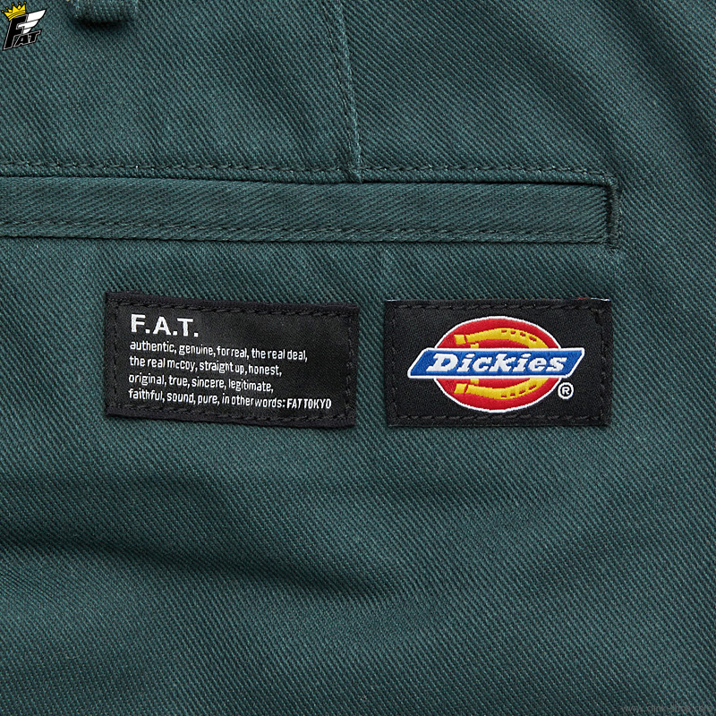 "FAT × Dickies ""TUFFIES"" (GREEN) [F32110-PN02]"