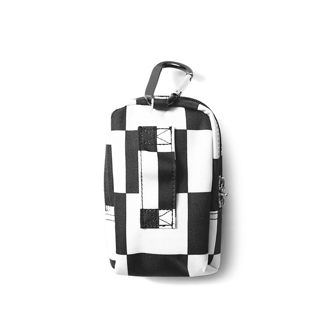 OBEY DROP OUT UTILITY SMALL BAG (CHECKER)