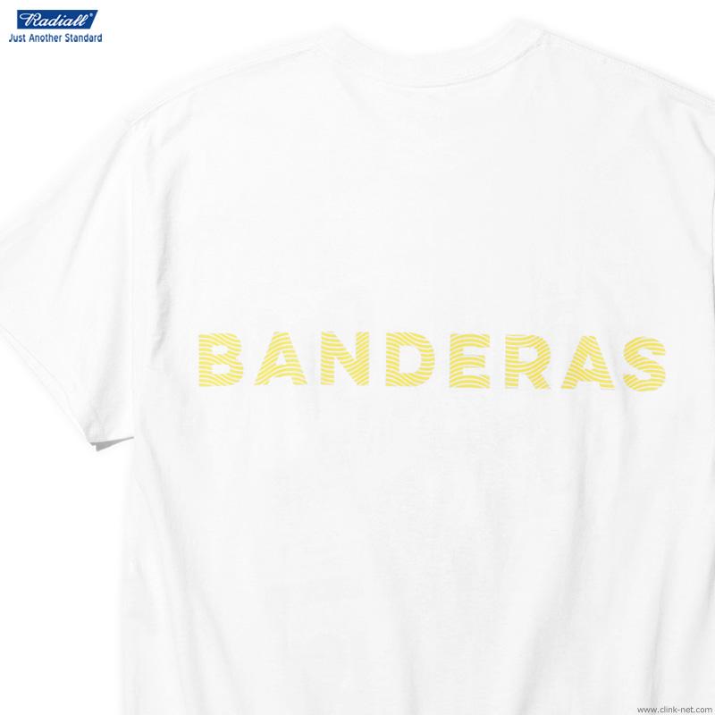 RADIALL BANDERA - CREW NECK T-SHIRT S/S (WHITE)