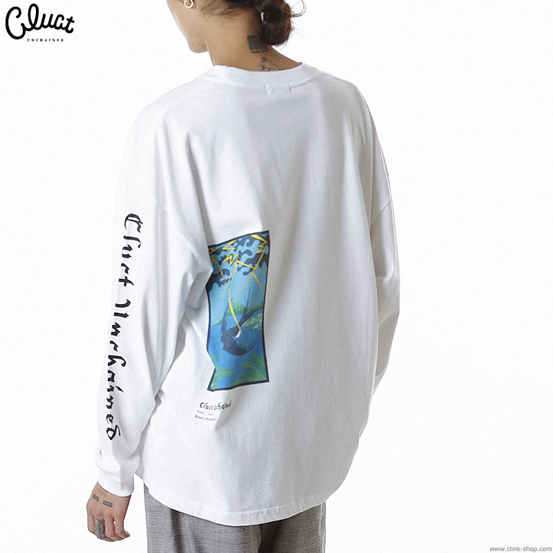 CLUCT CLT-TSUBAME L/S (WHITE) #04067