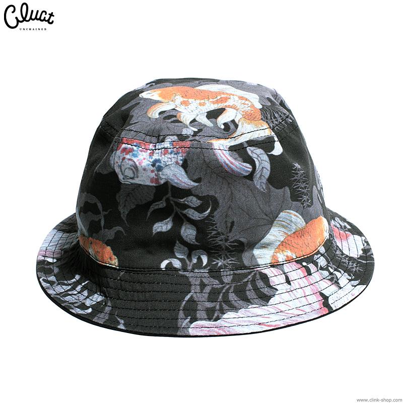 CLUCT KINGYO-REVERSIBLE HAT (BLACK) #04040