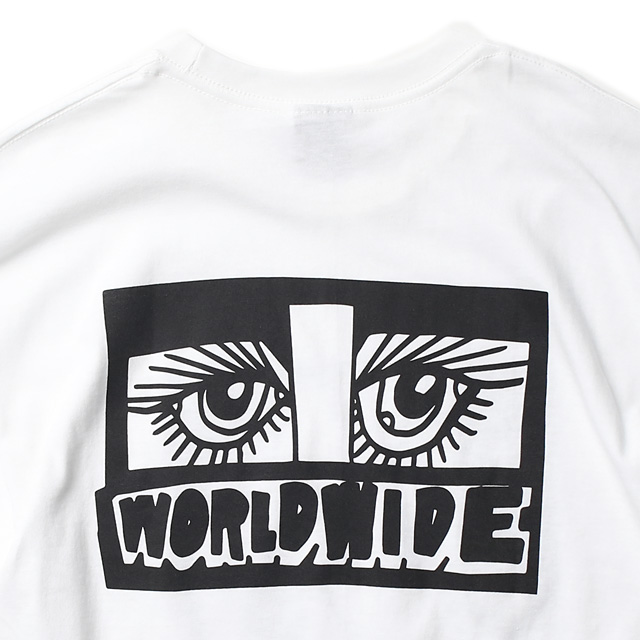 "★SALE★ OBEY BASIC TEE ""LIPS"" (WHITE) [ARTIST SERIES:MARILYN RONDON]"